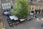 St Emilion market square