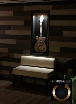 Custom Blue Shack Rotation Guitar