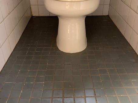 トイレのタイル貼りDIY③