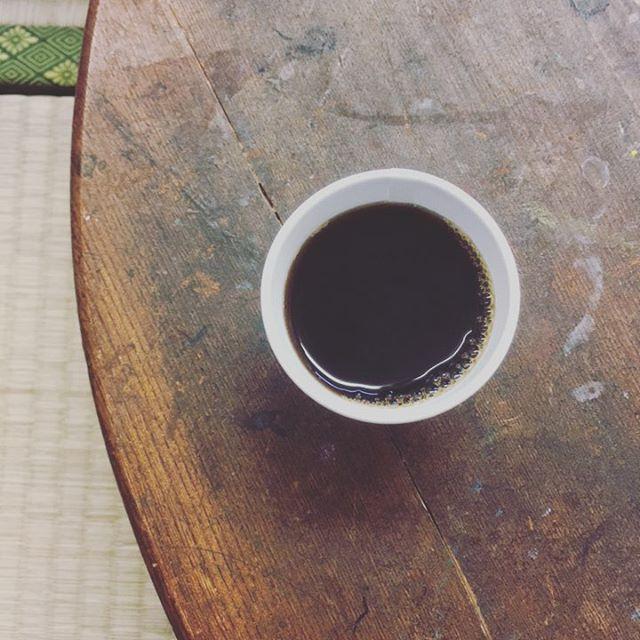 maruca coffee 試飲コーヒー
