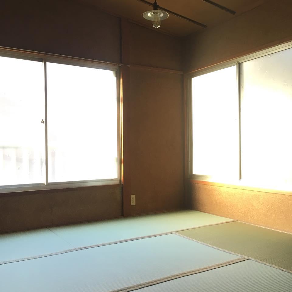 古民家カフェ 和室 砂壁