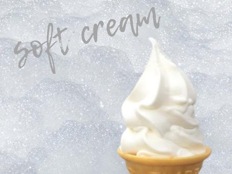 生活クラブの牛乳でソフトクリームを作ったよ。