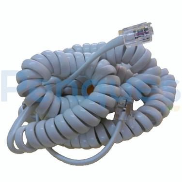 Cordão telefonico espiralado
