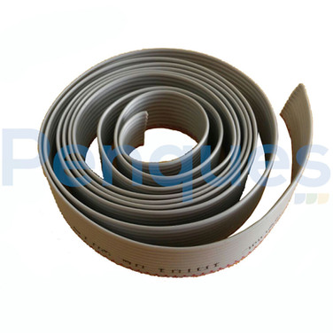 Flat cable 10 vias