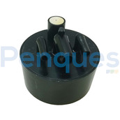 Caixa de esgoto padrão preta