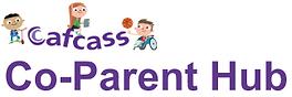CAFCASS Co-parent Hub logo