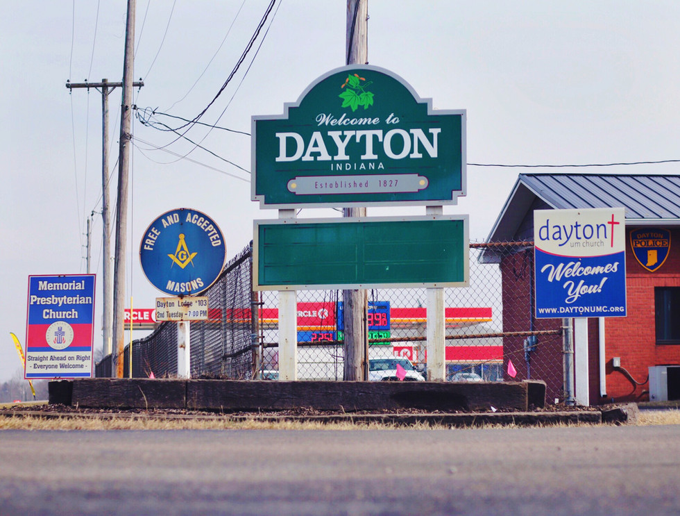 Welcome to Dayton, Indiana