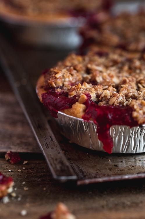 Raspberry & Strawberry Crumble