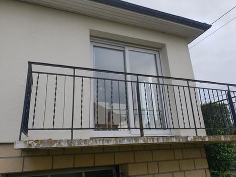 AVANT Entourage de fenêtre - Caen quartier Venoix