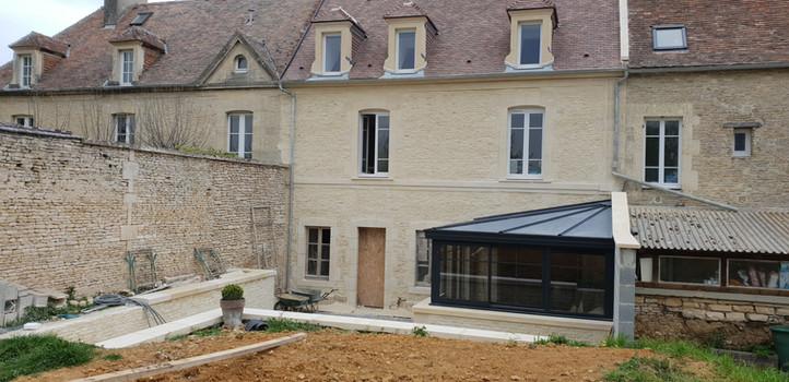 APRÈS Ravalement et terrassement - Villons-les-Buissons