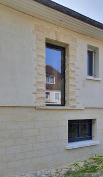APRÈS Entourage de fenêtre - Caen quartier Venoix