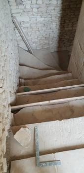 AVANT Escalier - Ferme du Hôme - Varaville