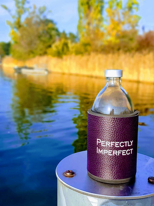 Glastrinkflasche PERFECTLY IMPERFECT  0,54 l