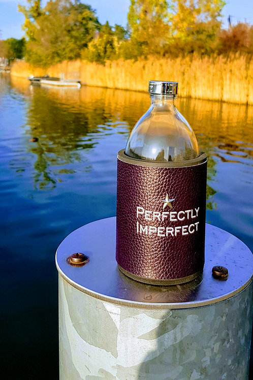 Glastrinkflasche Perfectly Imperfect 0,54l