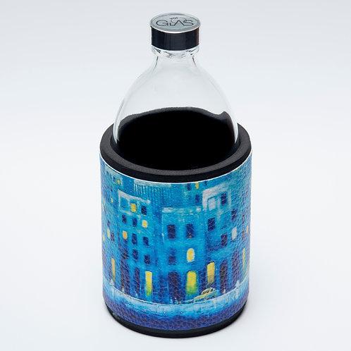 Glastrinkflasche STREETLIFE BLUE 0,54l VOIGLAS Produktlinie City Life