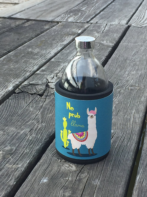 Glastrinkflasche MAGIC LAMA 0,54l   Produktlinie Dream ON