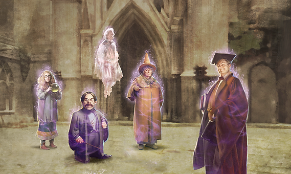 First Year at Hogwarts Part 2
