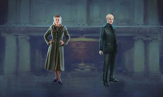Narcissa & Draco Malfoy
