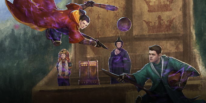 The Quidditch Cup Part 1