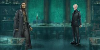 Draco and Fenrir