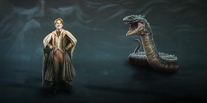 Gilderoy Lockhart and Slytherin's Basilisk