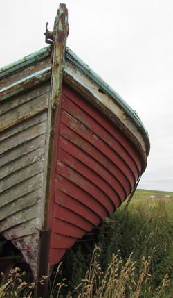 Rousay boat