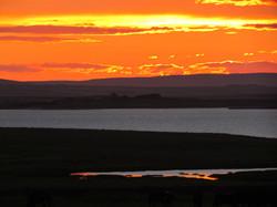 Halley sunset 1