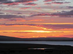 Halley sunset 2