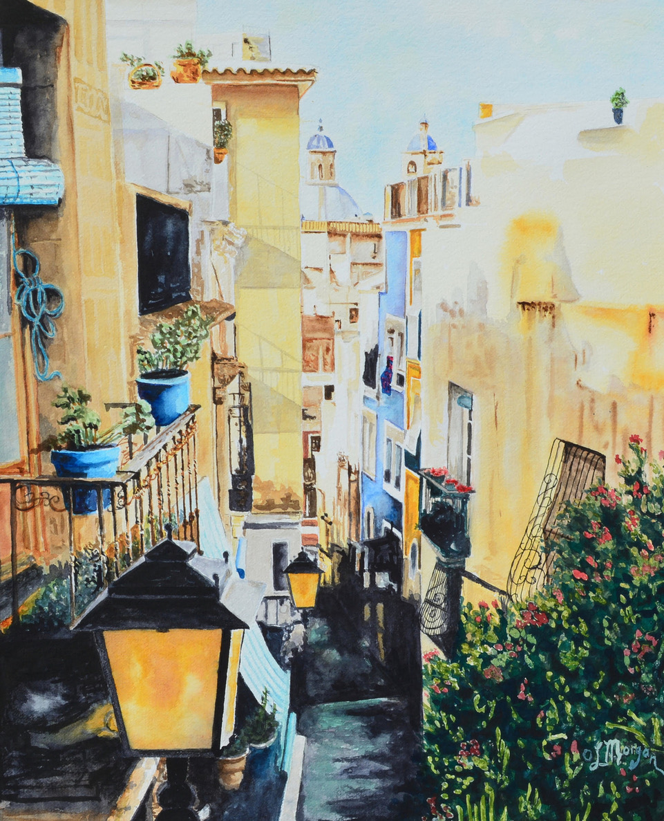 656-4 Backstreet-Alicante Spain