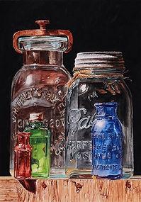 Bottles on Wooden Box 15 x 10.5.jpg