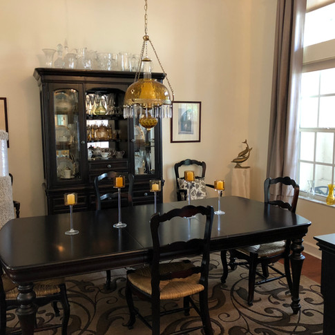 Clean dinning room-Padegenis cleaning-Titusville
