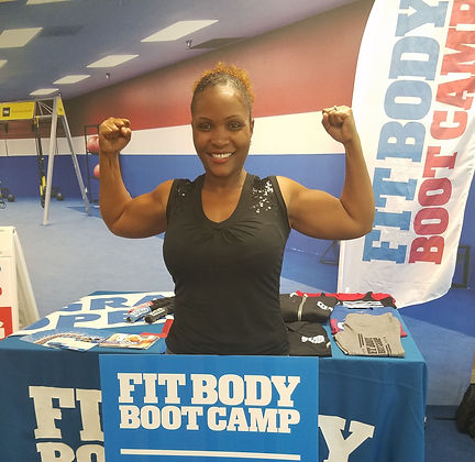 Shonte' Moaney Metrowest Fitbody Boot Camp Owner Trainer