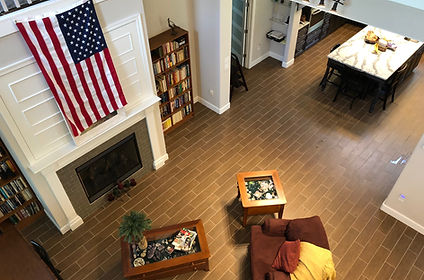 Living Room America - Padegenis Cleaning