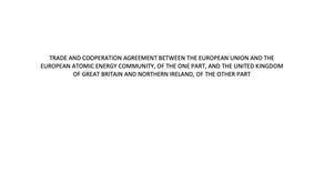 離脱後の協定合意の内容とは