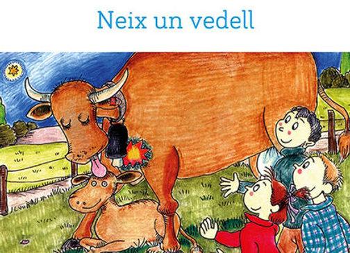 """Llibre """"Neix un vedell"""""""