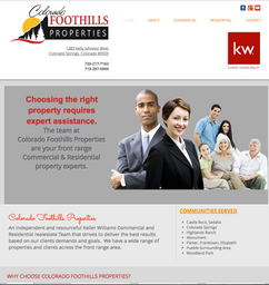 Colorado Foothills Residential nd Commercial Realty
