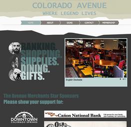 The Avenue Merchant of Old Colorado City