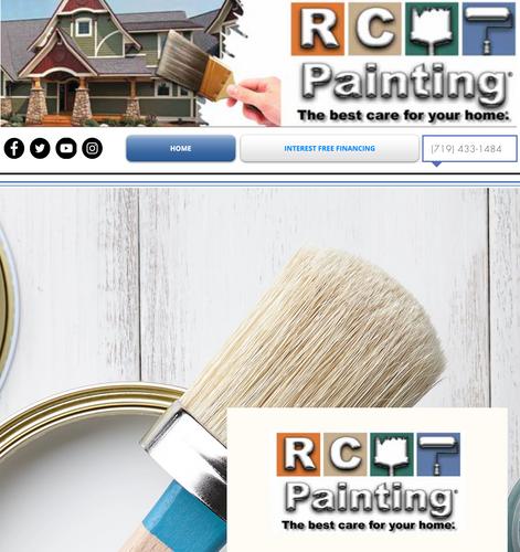 Painting Website Local Colorado Springs