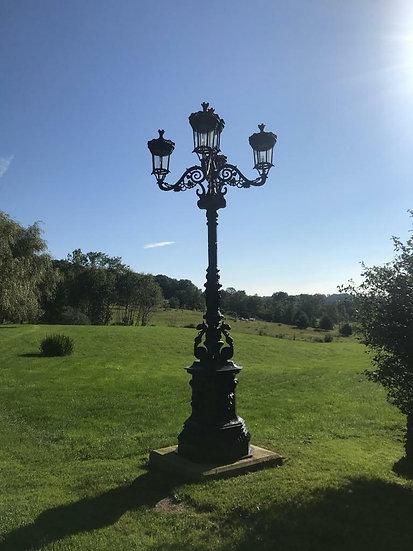 Cast Iron Victorian Style Street Light