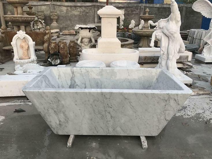 Carrara Marble Bath Tub