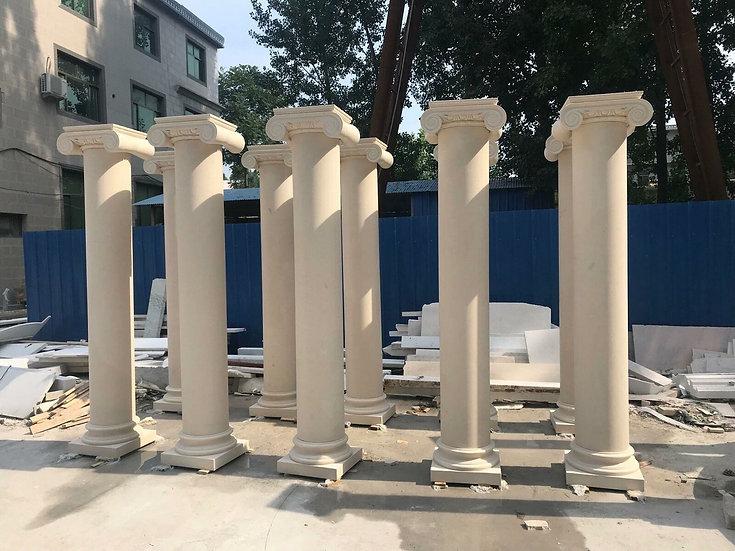 Beautiful Grecian Style Marble Columns