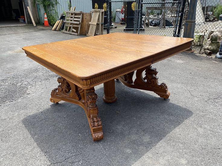 R.J. Horner Oak Dining Table