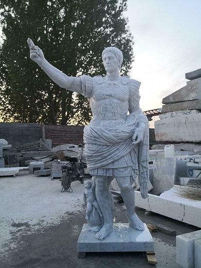 Marble Caesar Statue