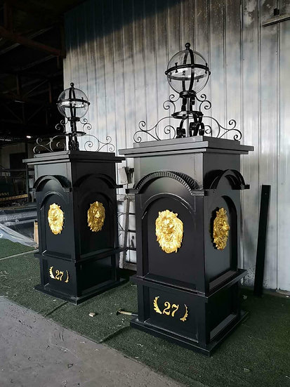 Driveway Gate Posts