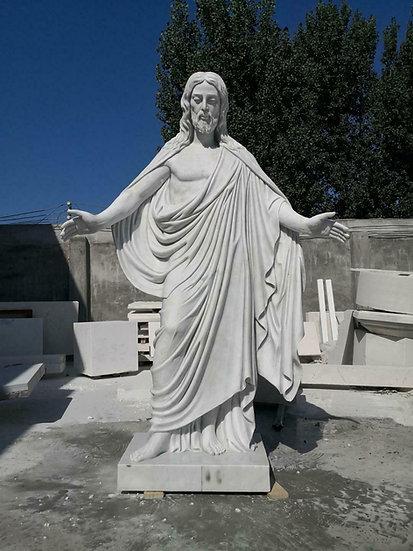 Marble Jesus Statue