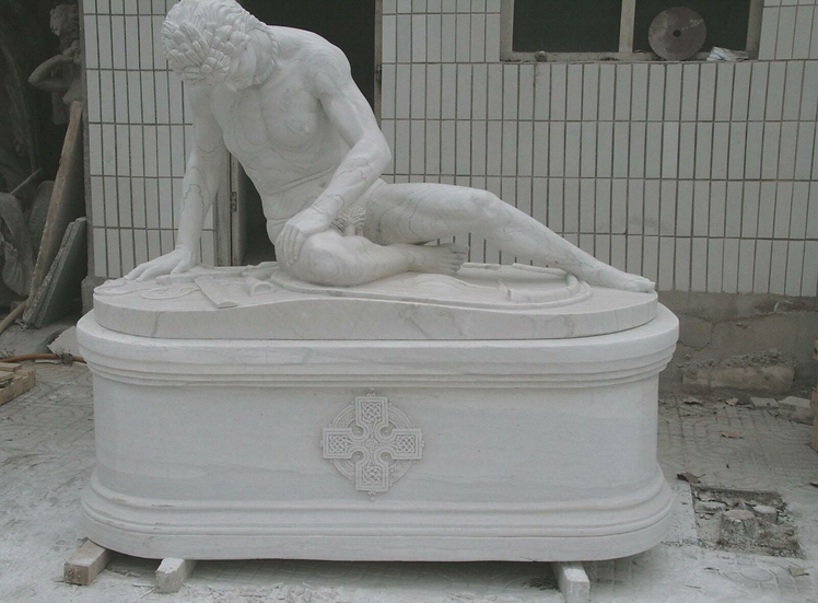 Marble Dying Gaul Statue