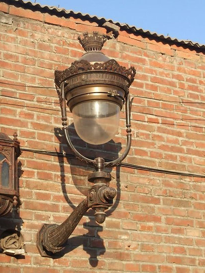 Cast Iron Victorian Style Wall Sconce