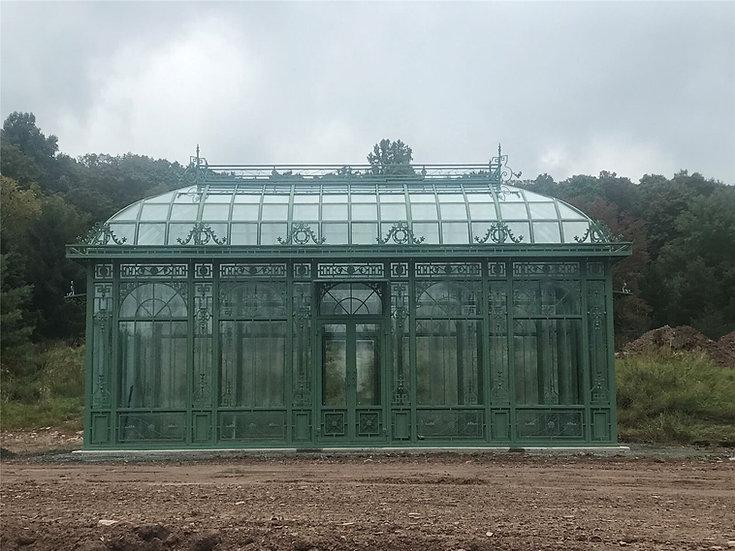 Iron Victorian Style Gazebo - Greenhouse