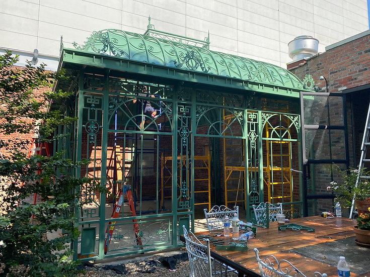 Victorian Style Restaurant Pavilion