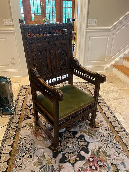 French Antique Briton Chair